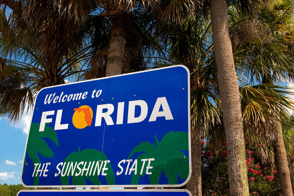3 top destinations for travelling with children: Florida