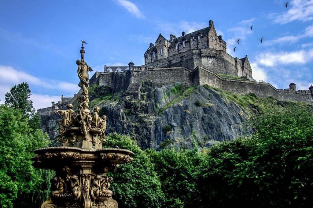 travelling with children to Edinburgh