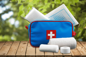 Your holiday checklist: first aid