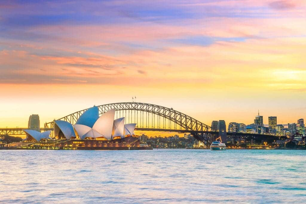 travelling with children in Sydney