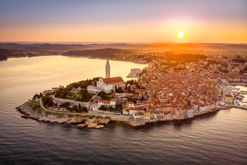 The 'new' most romantic destinations in the world: Rovinj, Croatia