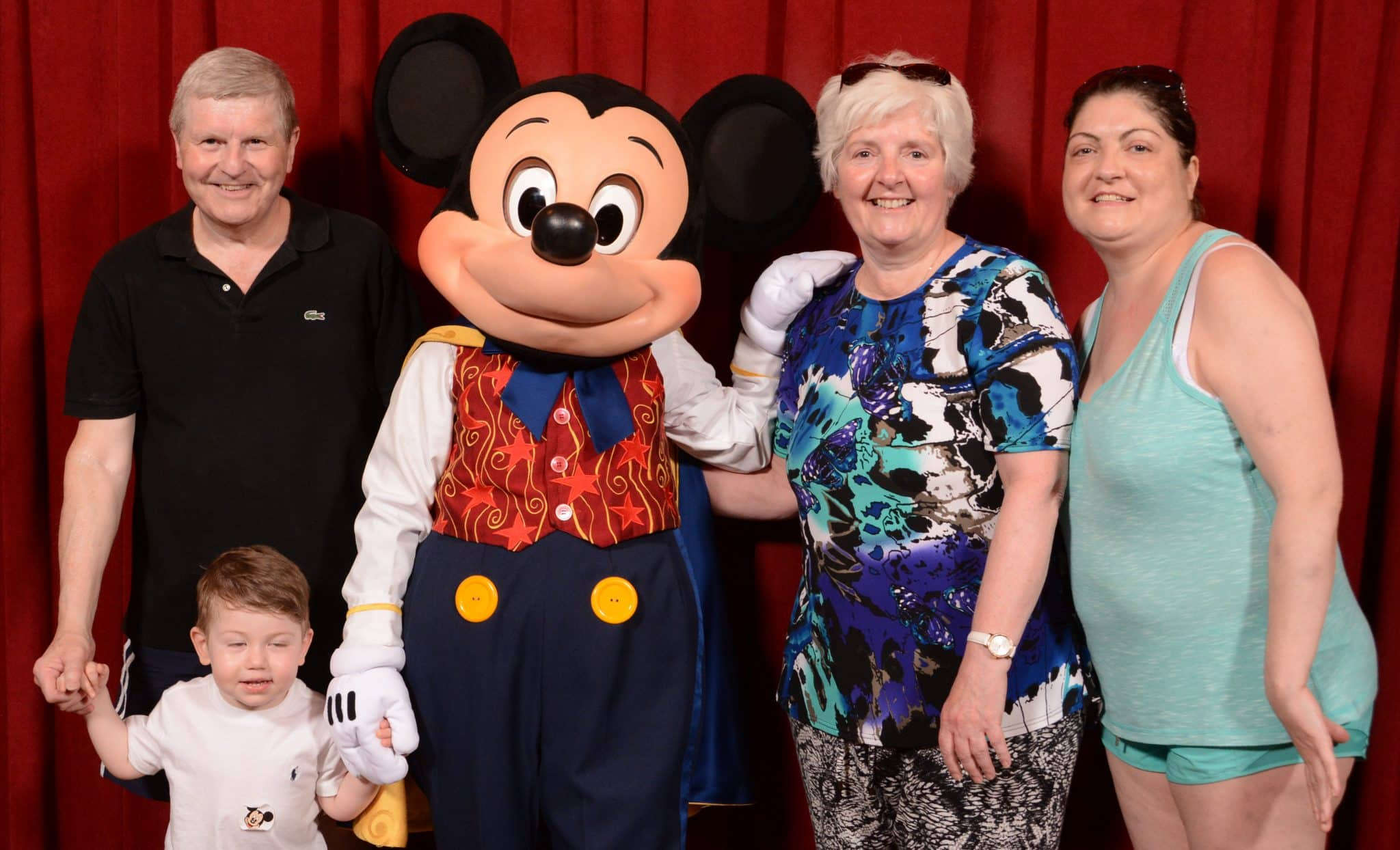 Heart transplant patient challenges scariest Disney rides: Nicola Hague and her family at Disney Land