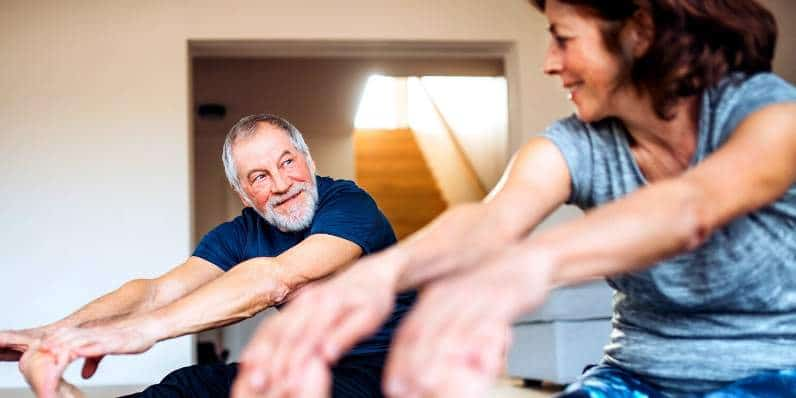 4 Home Isolation Workouts for Over 50s from Joe Wicks