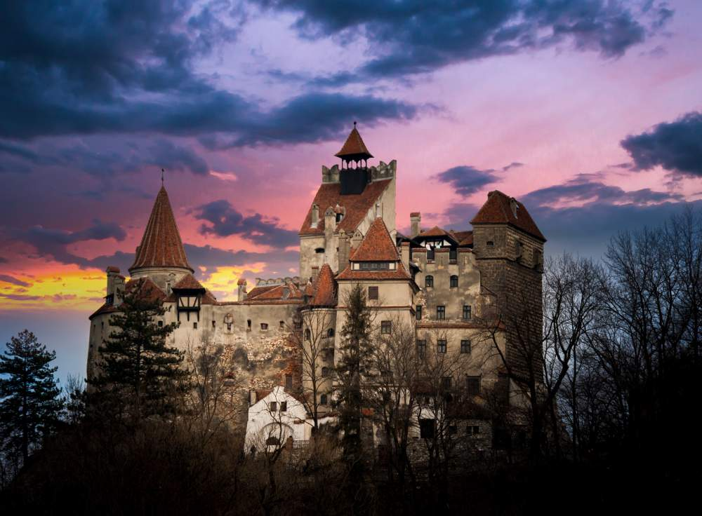 8 Spooky Destinations for a Halloween Holiday: Bran Castle, Transylvania, Romania