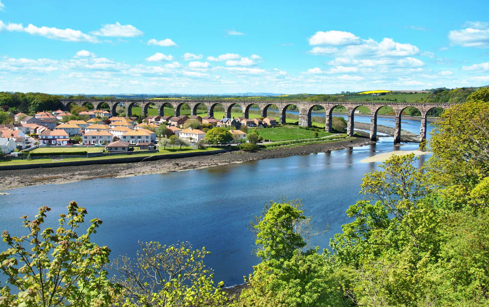 Berwick-upon-Tweed-Northumberland-England