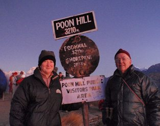 Guest Blog: Alan and Bevs' tips for travelling around the world in Poon Hill