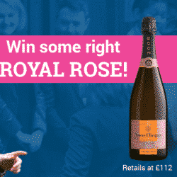 Enter our Royal Wedding Prize Draw: picture of champagne