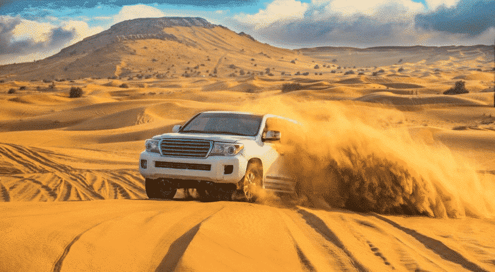 The Best Desert Holiday Destinations on Earth - Dubai 4x4 safari | AllClear Travel Blog
