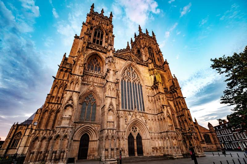 York Minster Cathedral one of the Top 10 Places in England for History Lovers