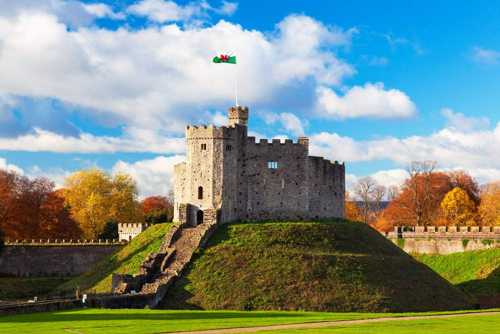Cardiff Castle, Cardiff, Wales where you can mark Remembrance Day 2019