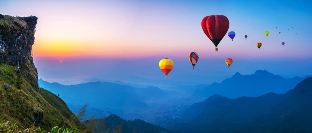 When buying cheap travel insurance could cost you dearly: Hot air balloons over Thailand