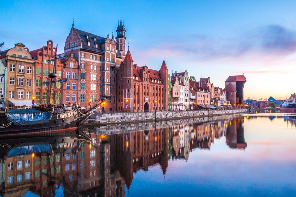 Top 10 up and coming city breaks in Europe: Gdańsk, Poland