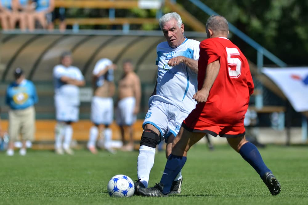 How to get fit when you are over 50 | Be inspired by this summer of sport: Senior men football