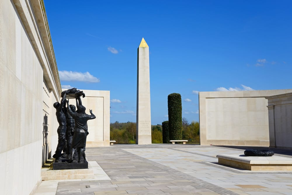 Where you can mark the End of World War I in its Centenary year: Centopath memorial for armed forces in World War I