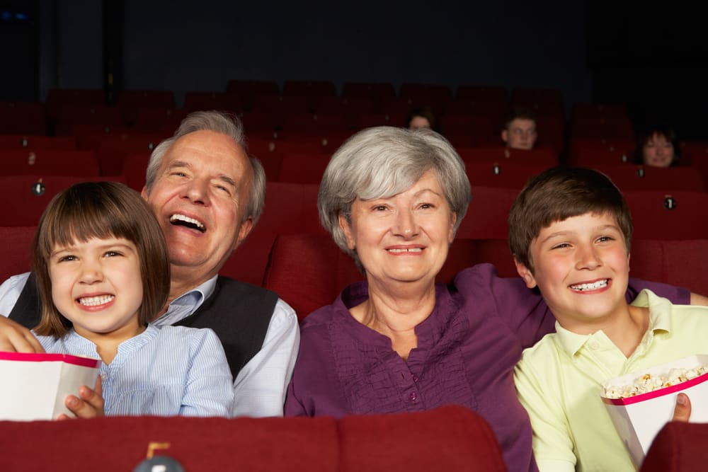 5 things to do with the grandchildren this Easter: Grandparents at cinema