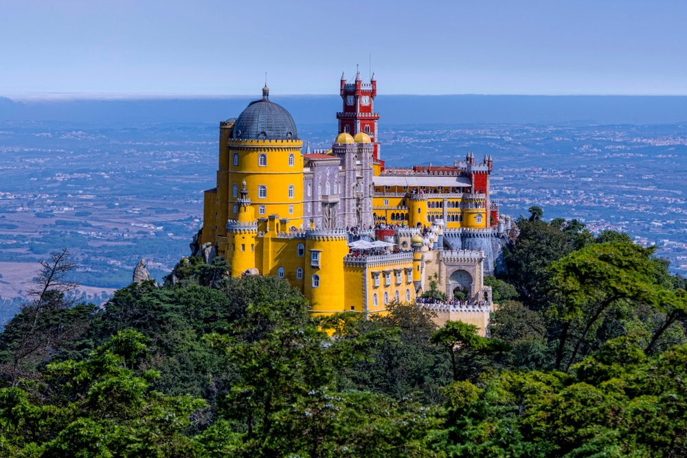 The 'new' most romantic destinations in the world: Palácio Nacional de Sintra, Portugal