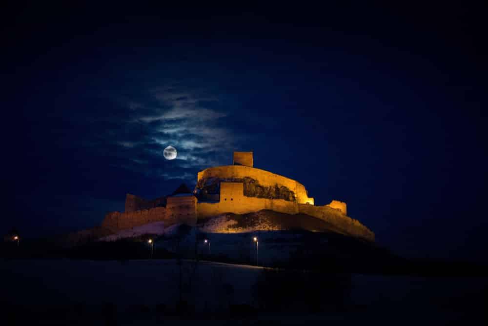 Most Popular Halloween Breaks & Destinations: Dracula castle in transylvania