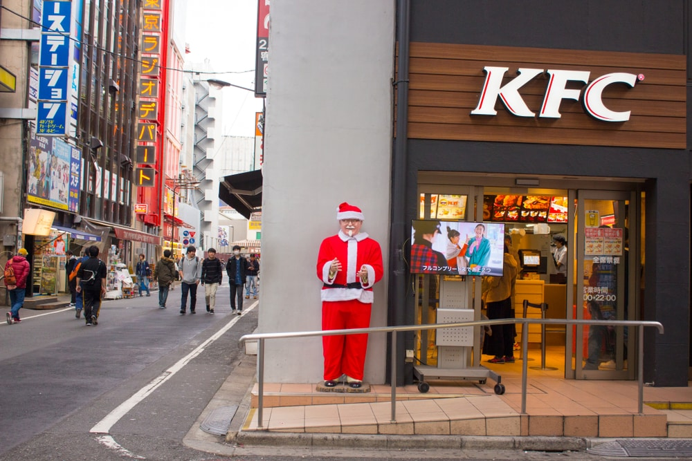 The top reasons to holiday abroad at Christmas: KF christmas in Japan