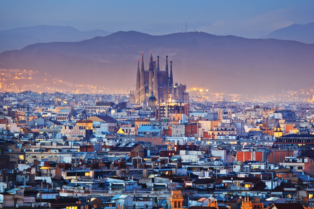 Over 50s guide to traveling in Spain: Barcelona overhead