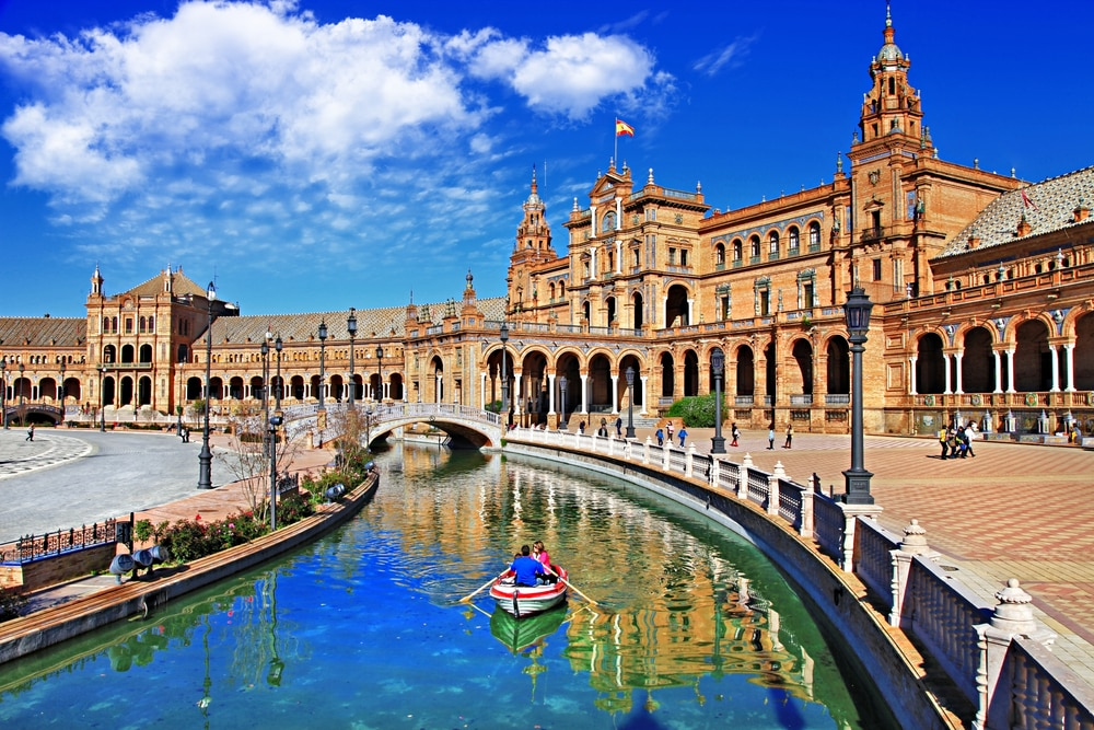 Over 50s guide to travelling in Spain: A river in Seville