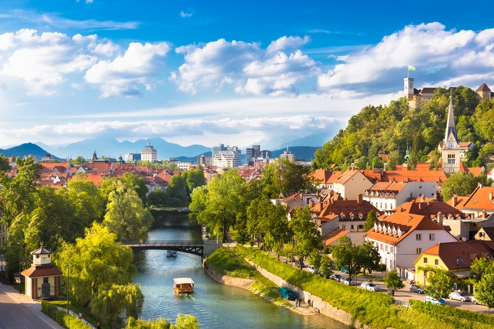 Top 10 up and coming city breaks in Europe: Ljubljana, Slovenia