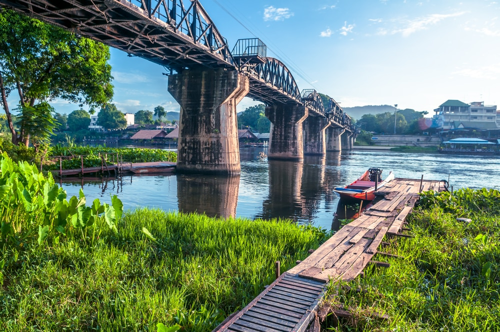 Solo Travelling Over 60 - Singles Holiday Ideas / Inspiration:The Bridge on the River Kwai, Thailand