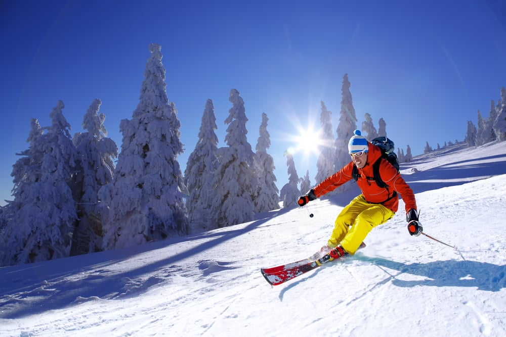Top 5 injuries to avoid on holiday: skiing in Europe