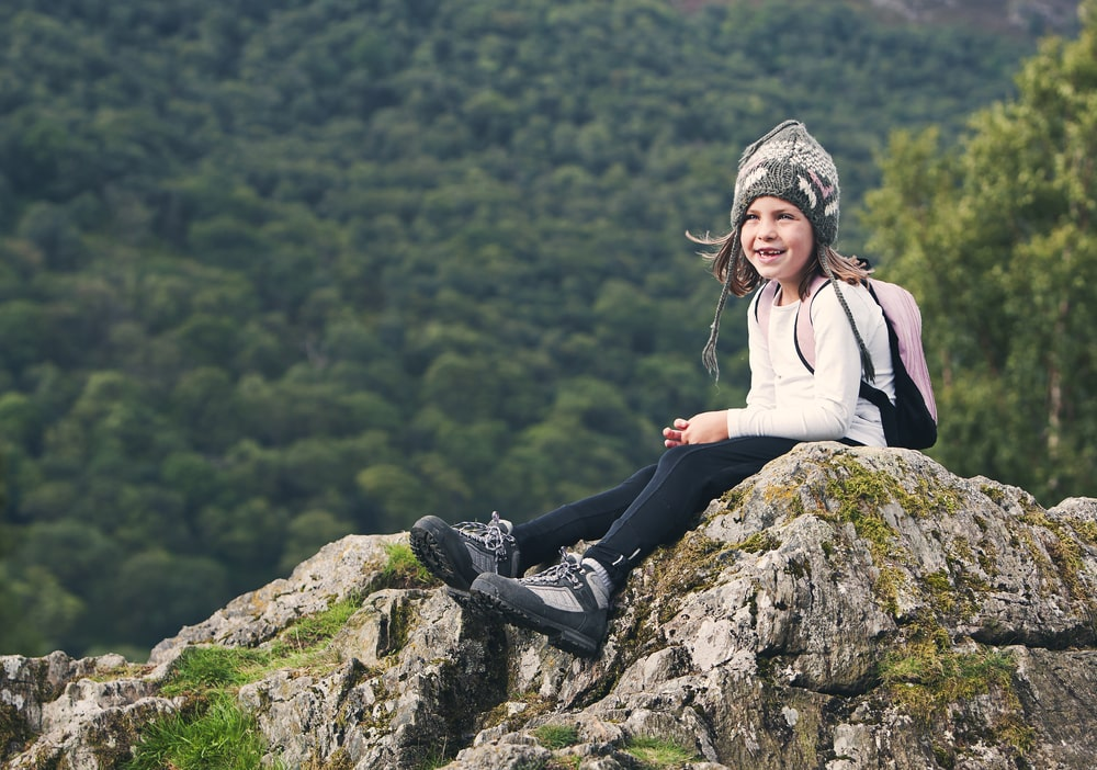 5 things to do with the grandchildren this Easter: Kid at the Lake District