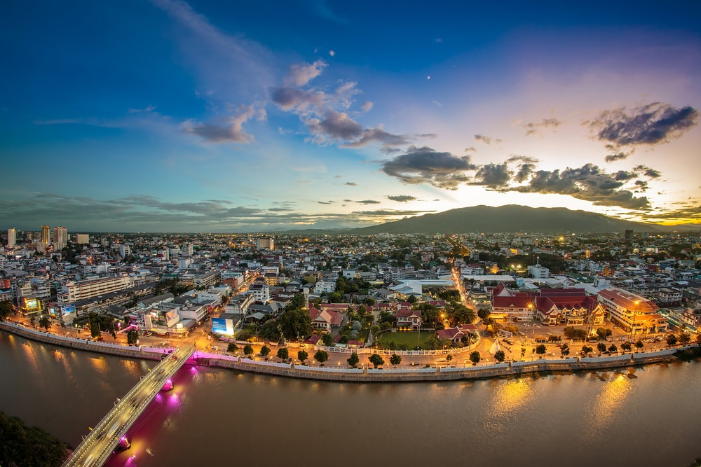10 stunning walled cities to take your breath away: Chiang Mai, Thailand