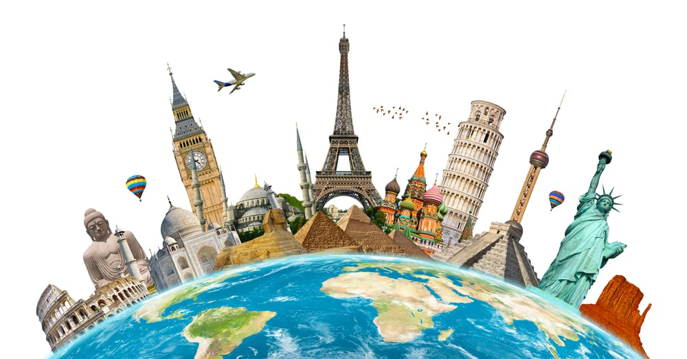 Do I Need Travel Insurance? Is It Worth It? Travel landmarks around the world