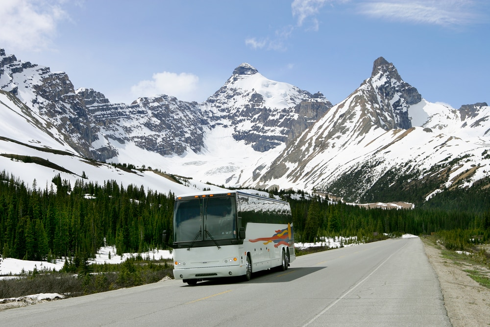 Medical Conditions That Prevent You From Flying: Coach trip into mountains
