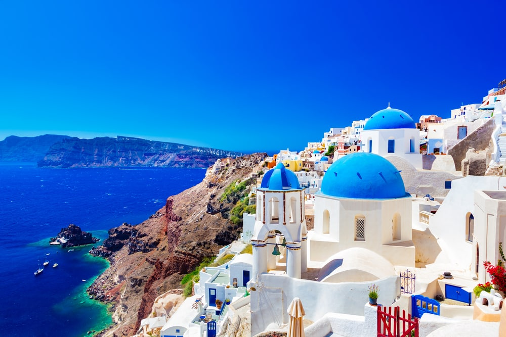 Preparing for a holiday when you have a medical condition: Santorini, Greece