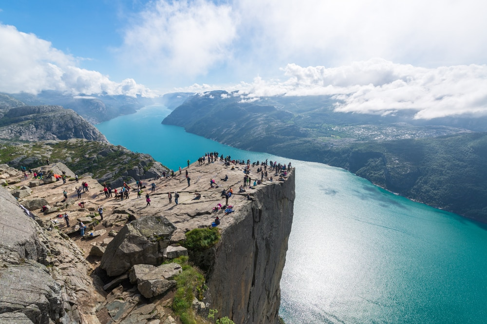 Solo Travelling Over 60 - Singles Holiday Ideas / Inspiration: Norwegian fjords