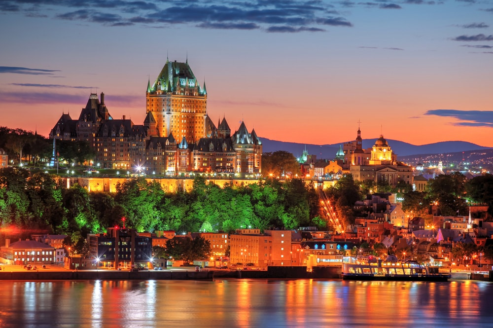 10 stunning walled cities to take your breath away: Quebec city, Canada