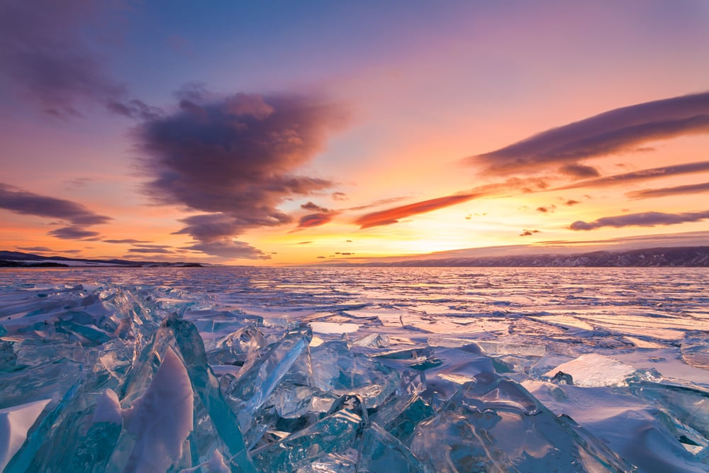 10 stunning places to visit in Russia during the World Cup: Lake Baikal