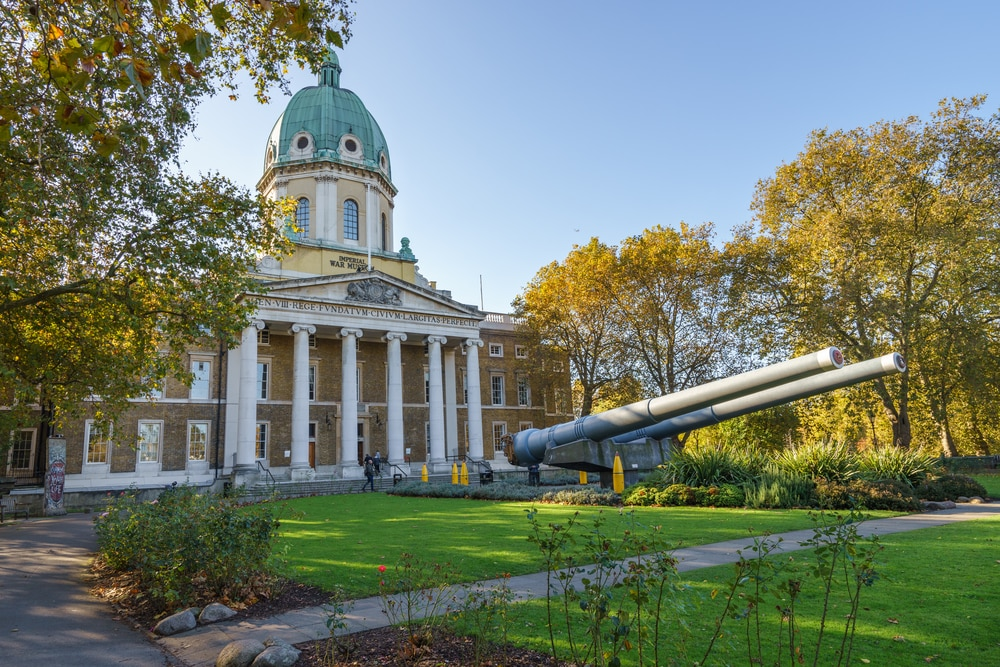 Where you can mark the End of World War I in its Centenary year: Imperial War Mueseum, London