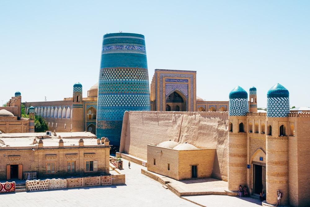 10 stunning walled cities to take your breath away: Itchan Kala, Uzbekistan