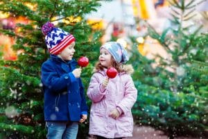 Top tips for Christmas market madness: two kids