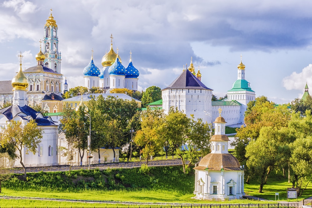 10 stunning places to visit in Russia during the World Cup: Sergiyev Posad
