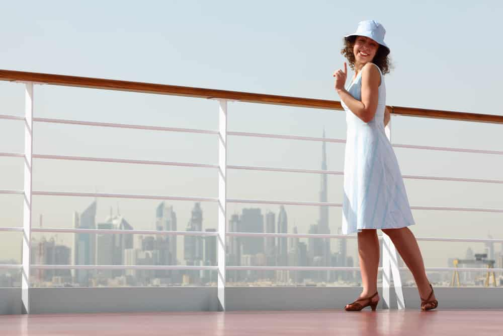 Medical Conditions That Prevent You From Flying: Young woman on a cruise