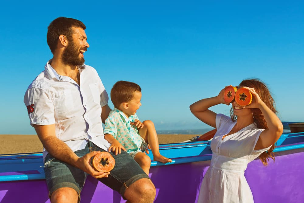 Travel Vaccinations Guide: Young family on road trip holiday