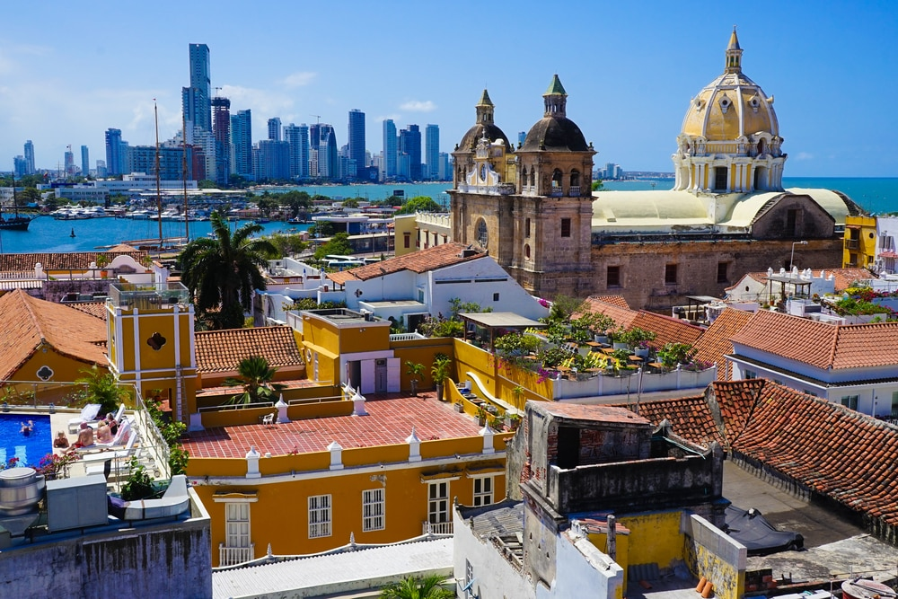 10 stunning walled cities to take your breath away: Cartagena, Columbia
