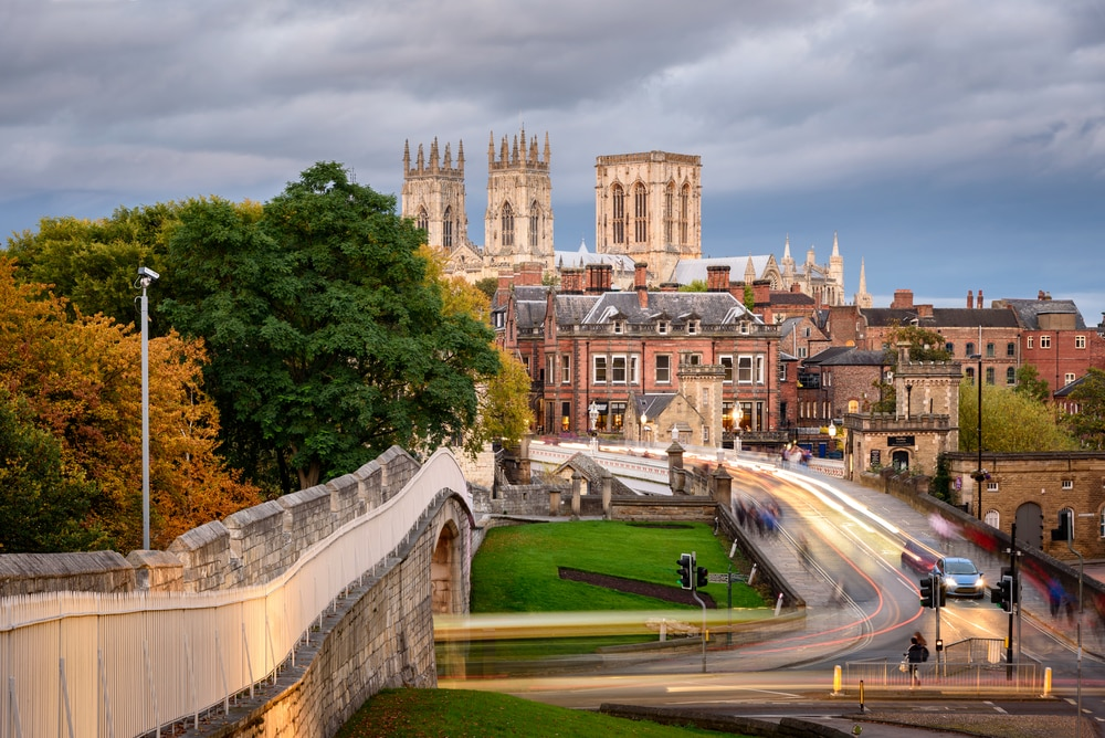 10 stunning walled cities to take your breath away: York, city wall, England