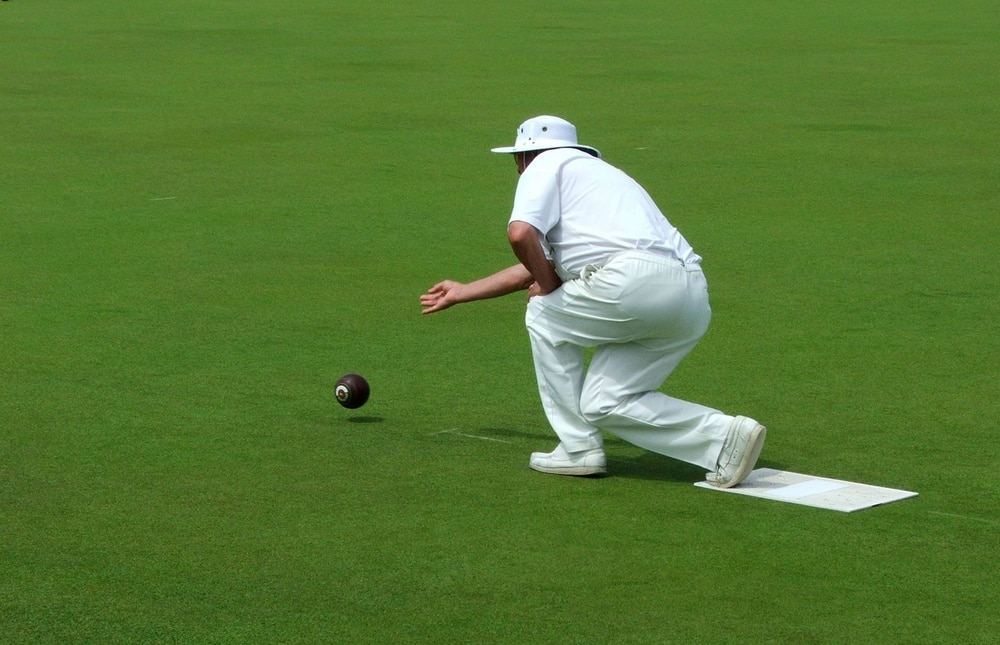 How to get fit when you are over 50 | Be inspired by this summer of sport: Man playing the sport bowls