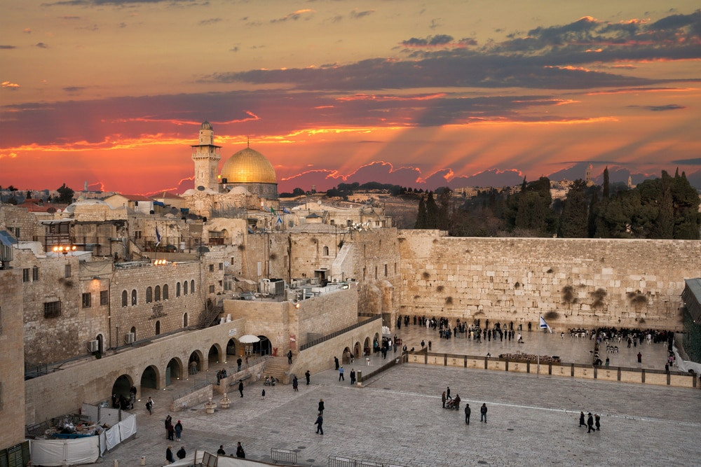 10 stunning walled cities to take your breath away: Jerusalem, Israel, Western wall