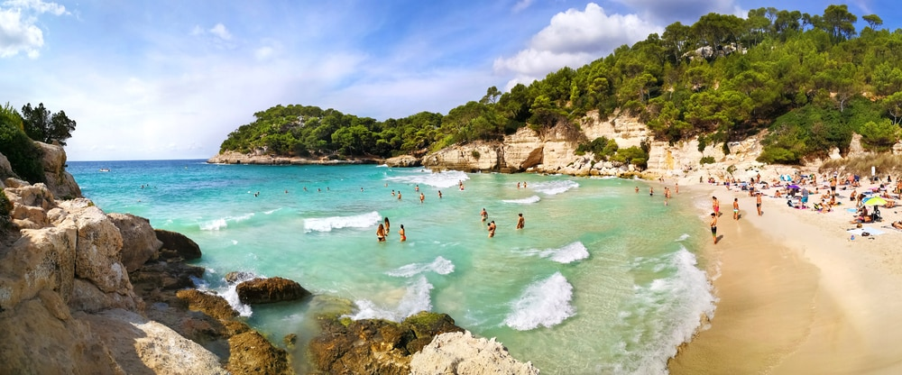 Over 50s Guide to Traveling in Spain: Menorca beach Spain