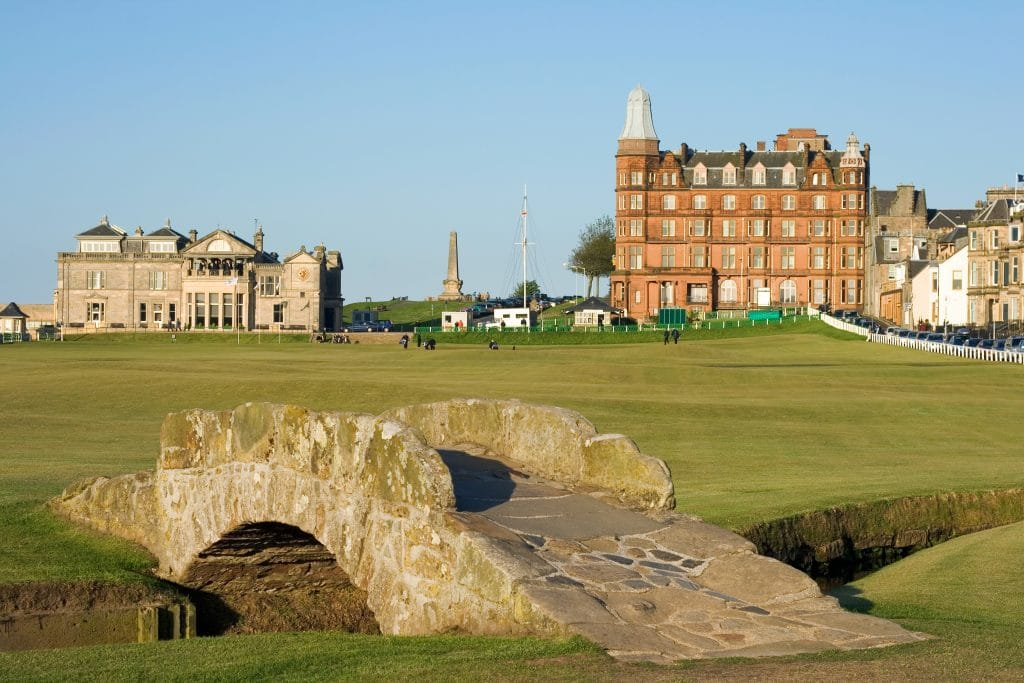 St Andrews scotland for golfing holidays