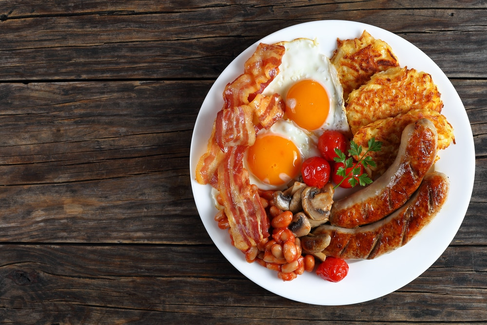 10 things that make a great British holiday: A cooked English breakfast