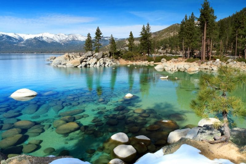 6 accessible destinations for wheelchair users: Lake Tahoe